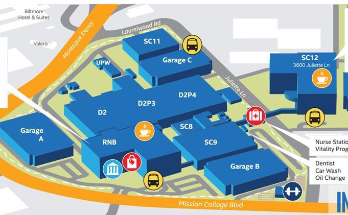Intel Campus Map.Where When Www Meetbsd Com